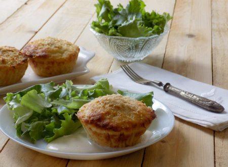 Muffin di patate ripieni
