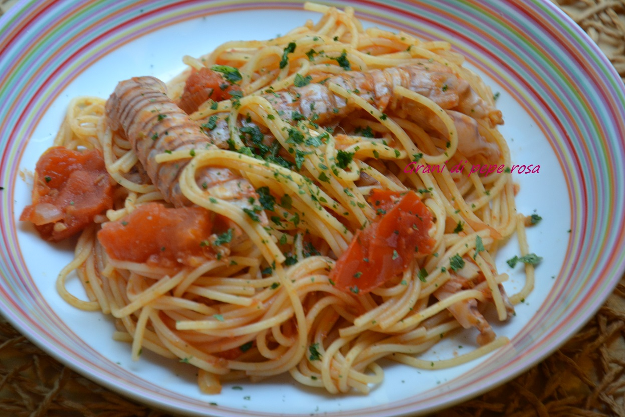 ricette spaghetti alle canocchie - le ricette di giallozafferano - Cucinare Le Canocchie