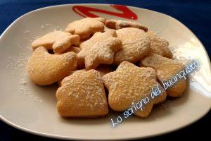 Biscotti simpaticissimi di pasta frolla