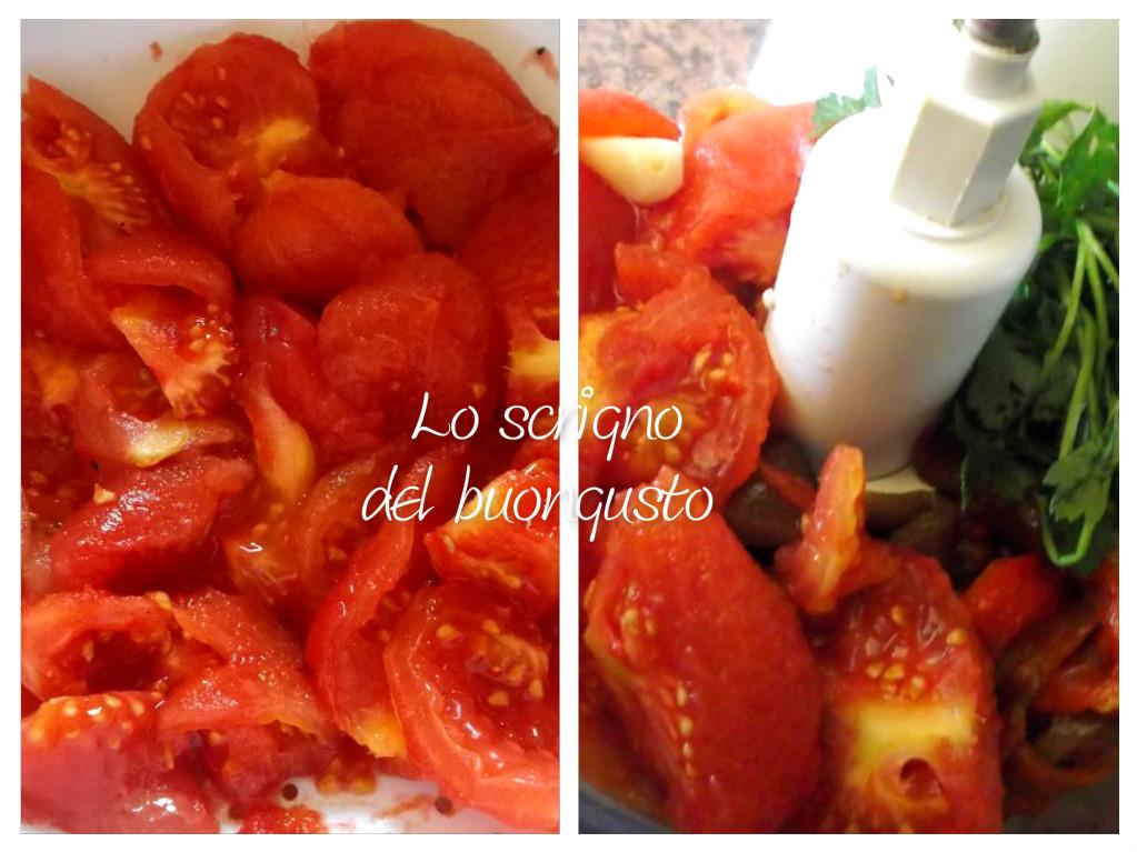 Salsa gustosissima ai peperoni per bruschette