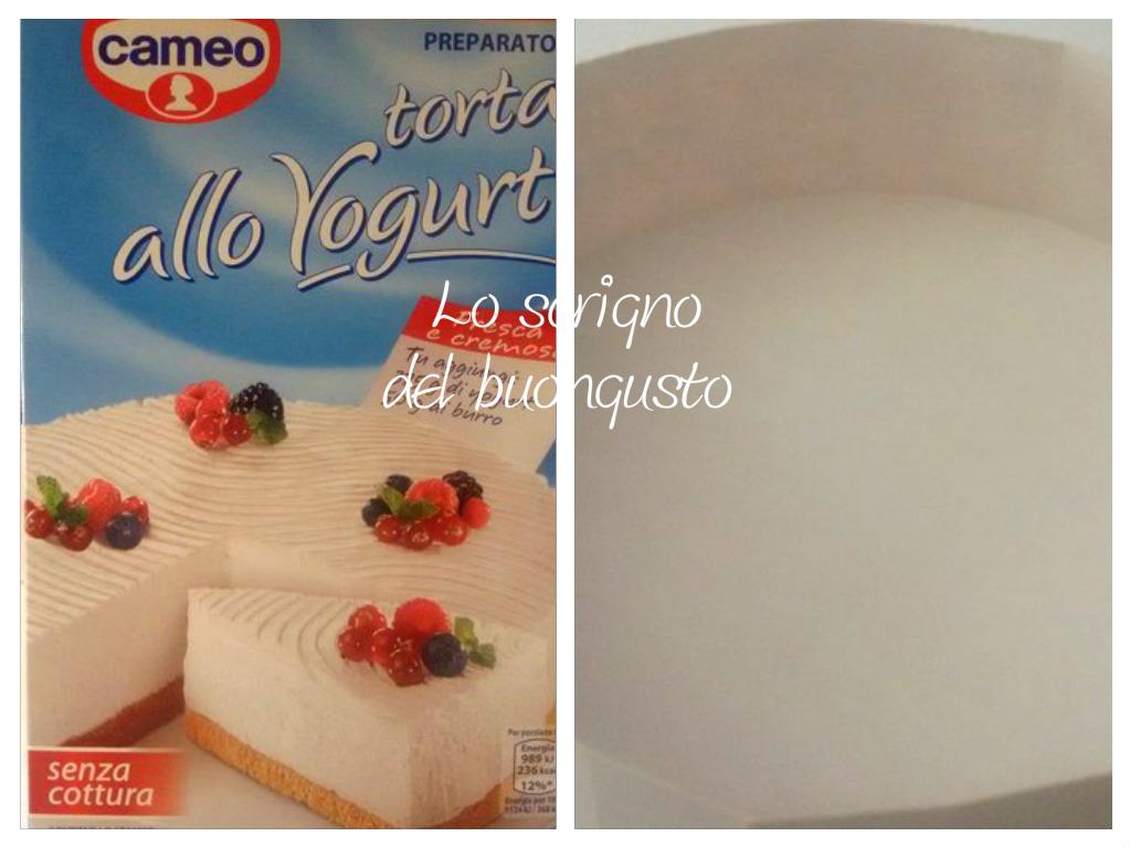 Torta allo yogurt cameo