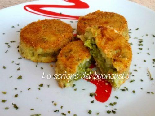 Muffin salati con asparagi e patate