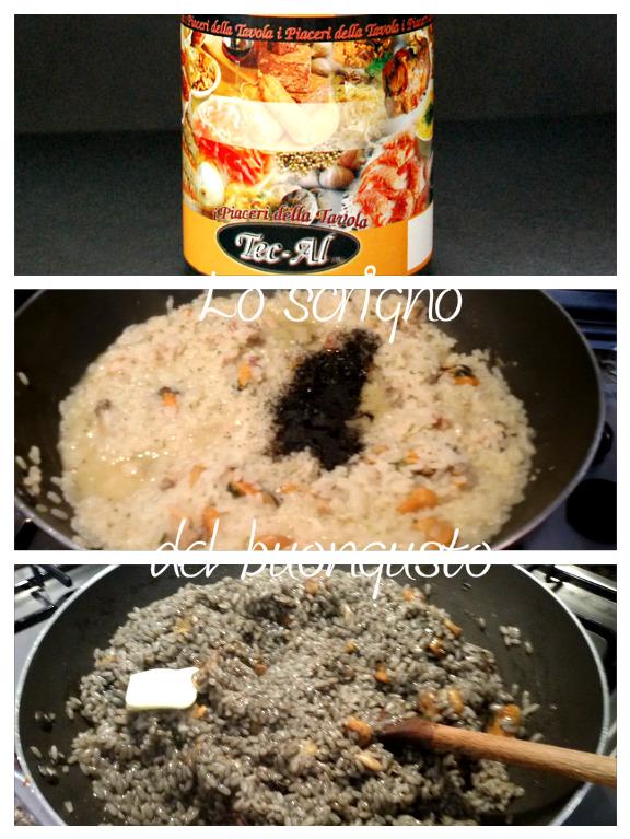 Il mio risotto al nero di seppia