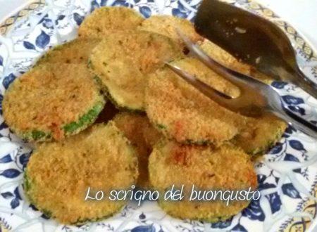 Zucchine con panatura light cottura al forno