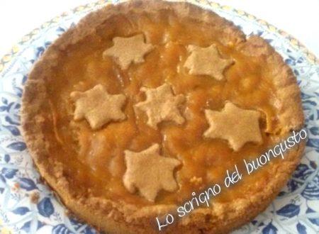 Crostata con farina di farro e marmellata