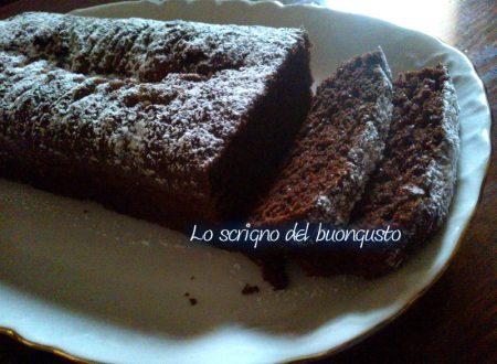 Il mio plum-cake al cioccolato senza uova