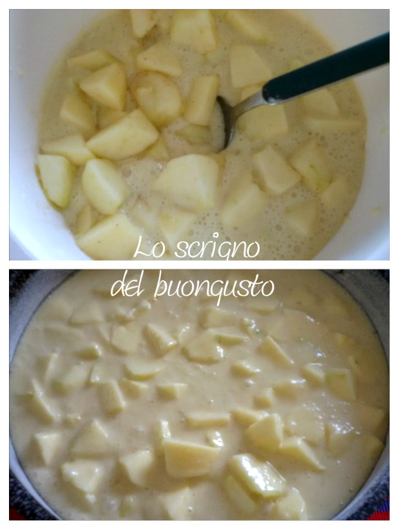 Torta di mele aromatizzata allo zenzero