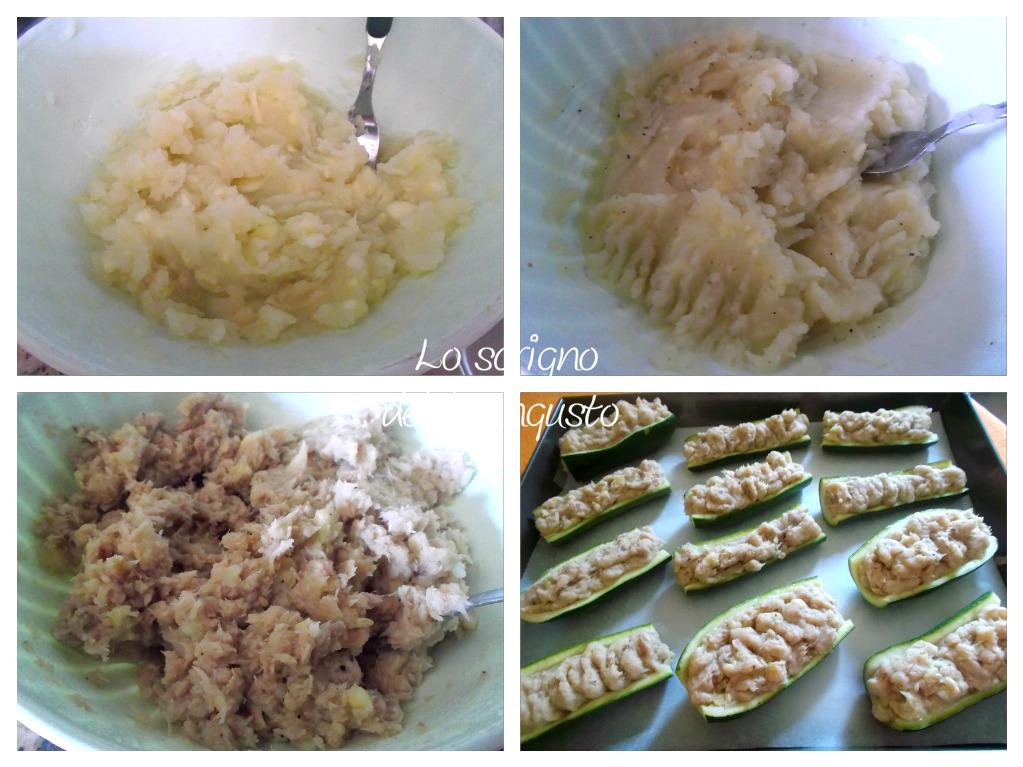Zucchine farcite
