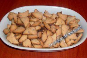 Biscotti senza burro e senza uova