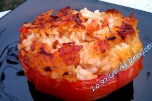 Pomodori con il riso a modo mio – Lazio –