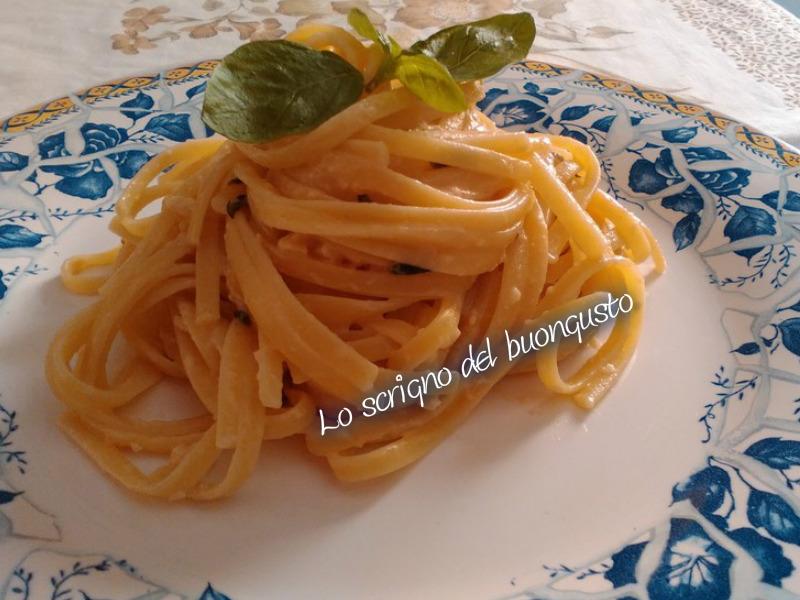 Linguine al pesto siciliano