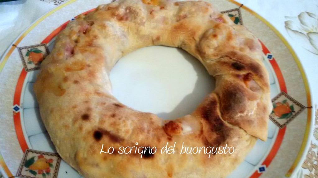 Ciambella di pizza