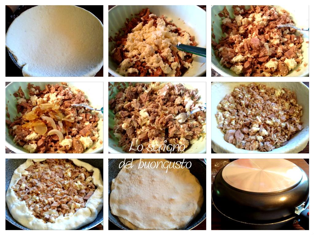 Torta salata farcita