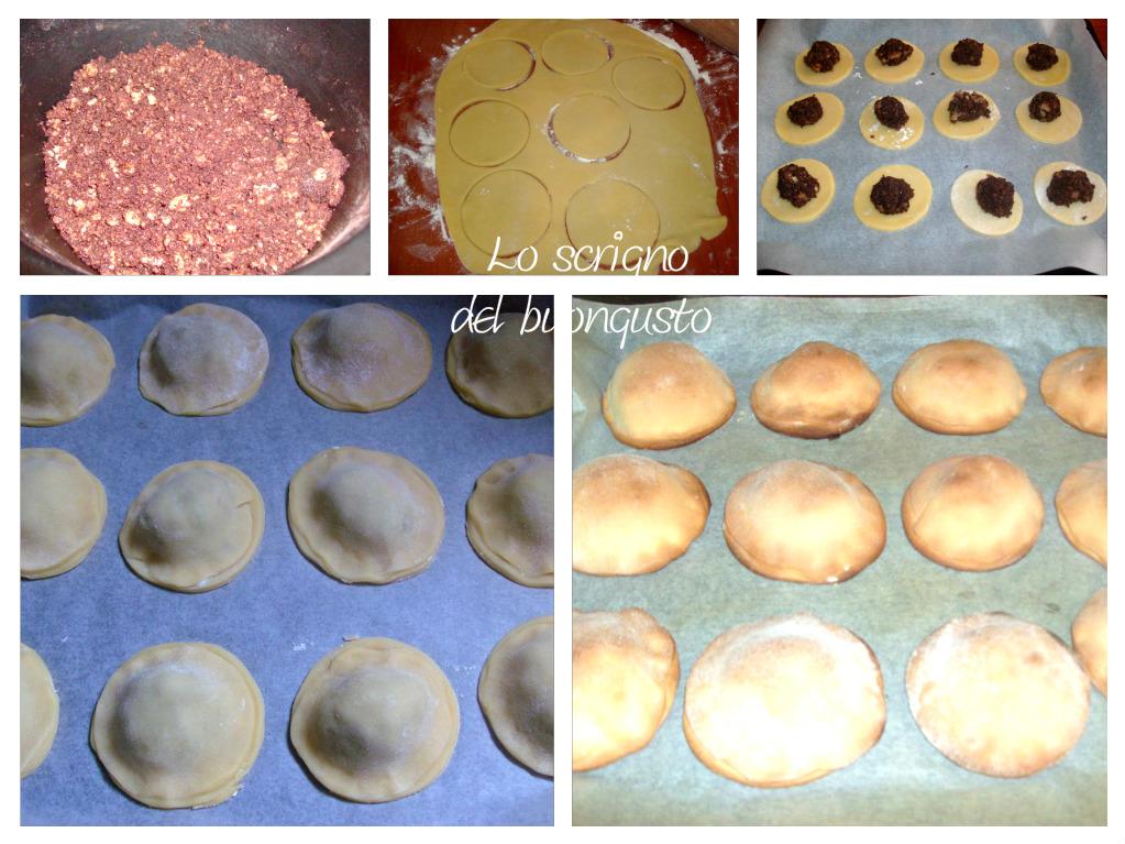 Biscotti di pasta frolla imbottiti