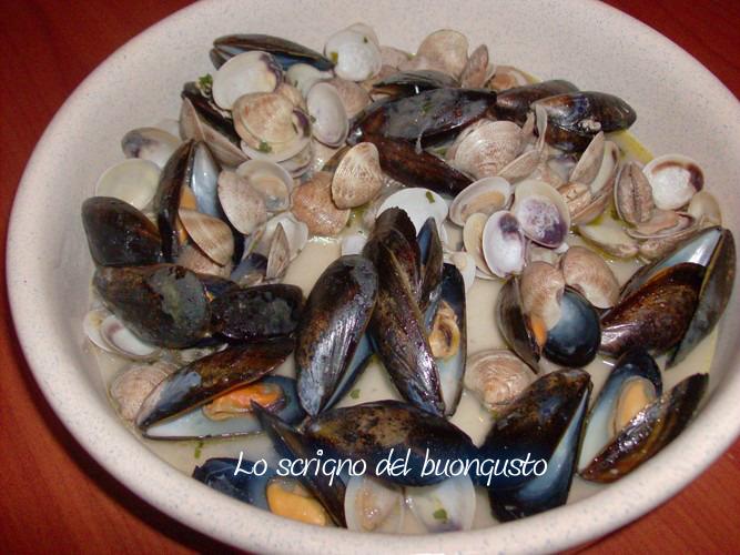 Frutti di mare aglio e prezzemolo
