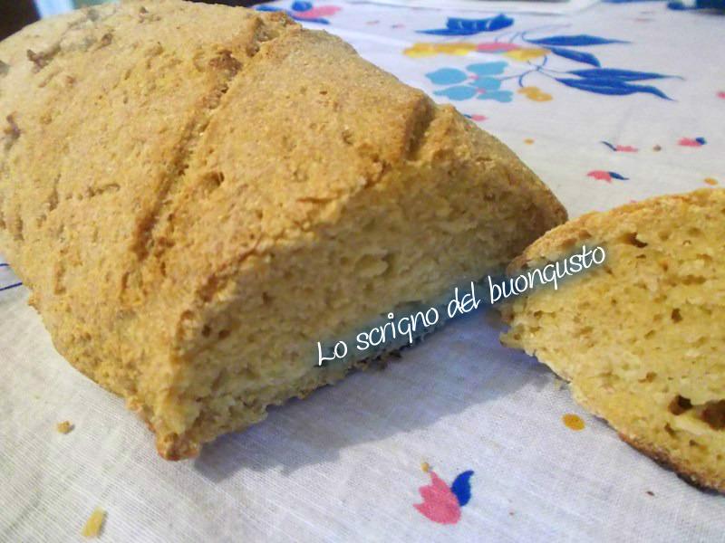 Pane con farina di granturco