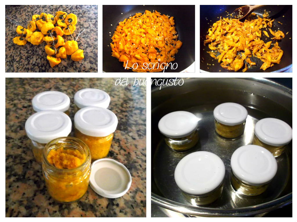 Crema di peperoncini jamaican
