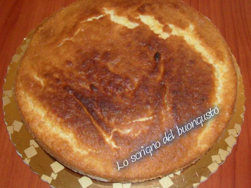 Pan di spagna senza uova