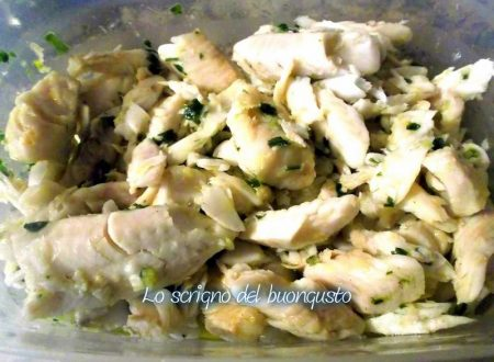 Merluzzo insalata