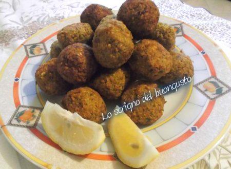 Falafel di ceci (Egitto)