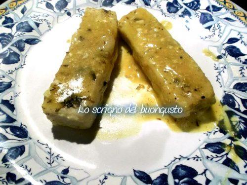 Filetti di merluzzo al curry