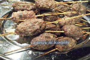 Kofta – spiedini di carne – (Iran)