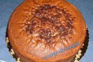 Torta margherita con cioccolato