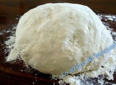 Impasto per pizza con la MDP