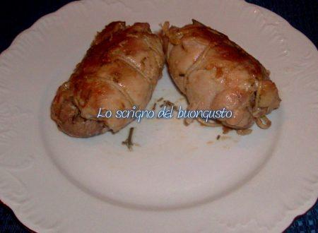 Rotolini di pollo speziati