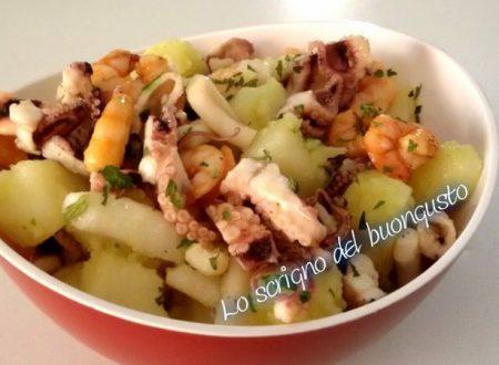 Insalata di mare con patate
