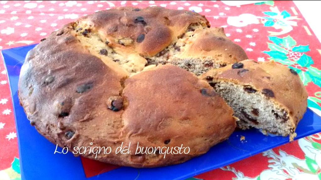 Panettone basso genovese