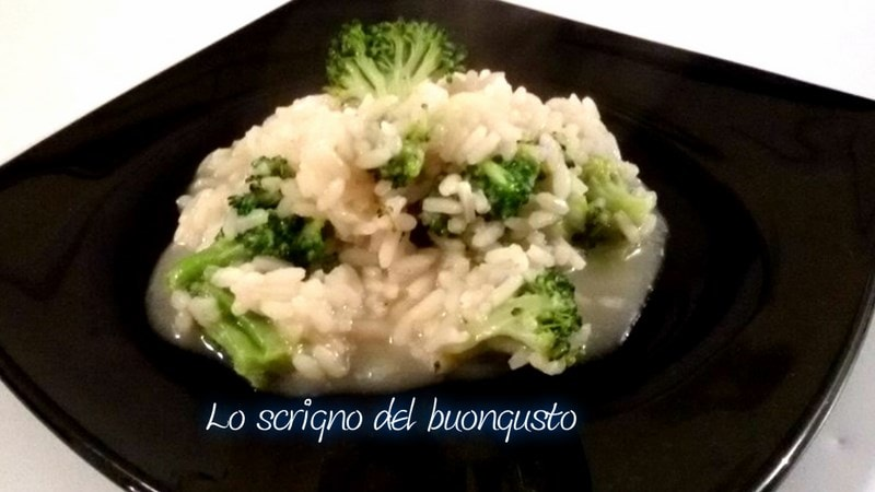 Risotto con i broccoli
