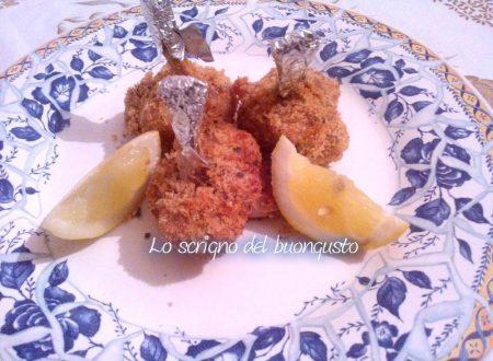 Funghetti di pollo con panatura saporita
