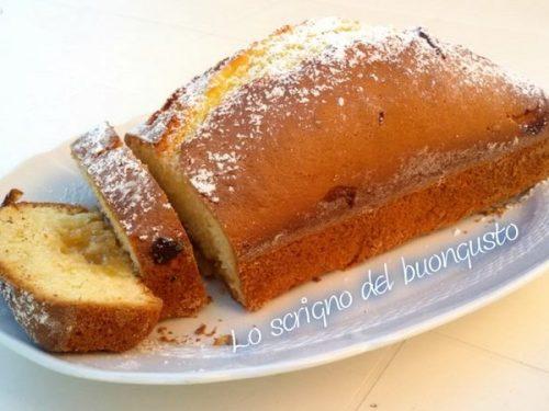 Plum-cake yogurt e confettura