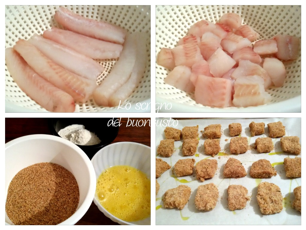 Birbe di pesce al forno