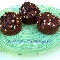 Muffin liquorosi al cioccolato e nocciole