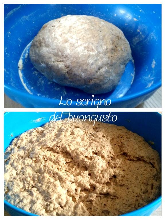 Filone di pane al grano saraceno