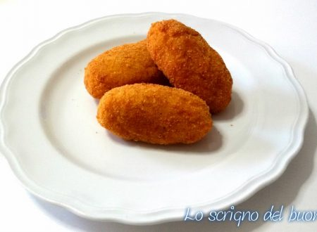 Supplì di riso allo zafferano