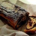 Plum-cake ricotta e cacao