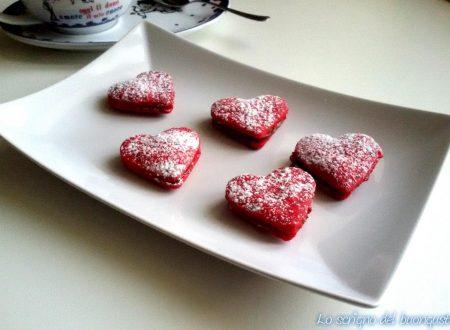 Cuoricini di San Valentino senza uova