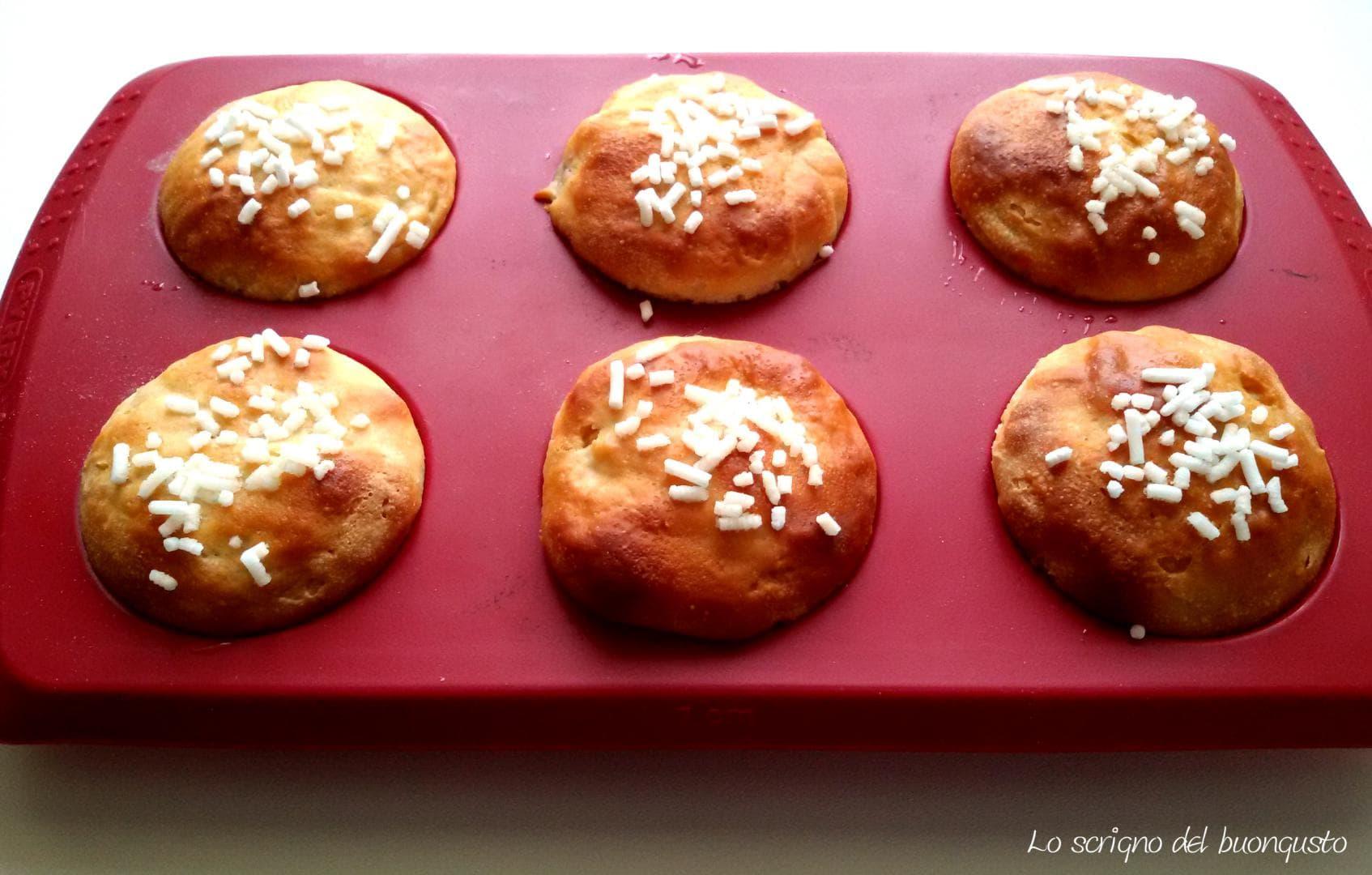 Muffin con pasta madre farciti