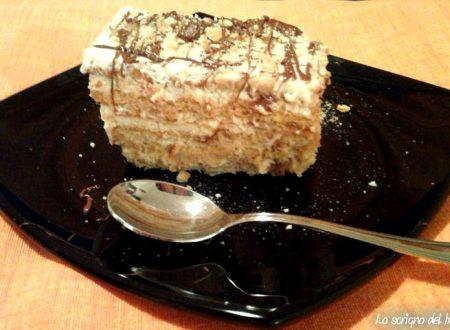 Torta fredda biscotti e mascarpone