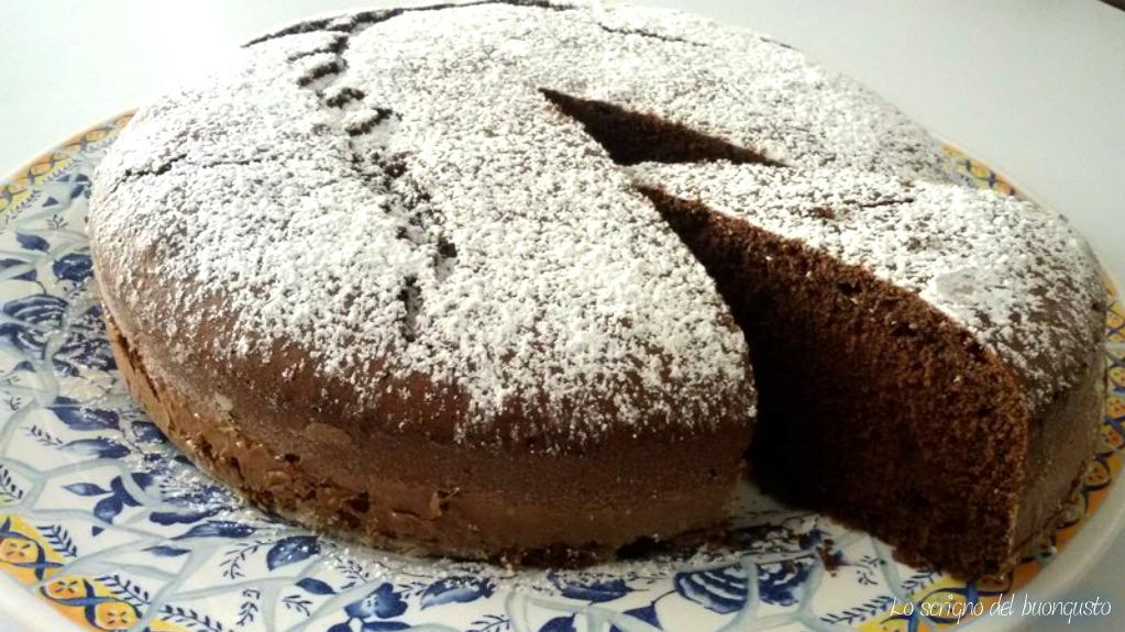 Torta al cioccolato senza glutine cameo