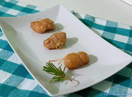 Fagottini di pollo speziati