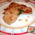 Lombata di maiale all'aglio