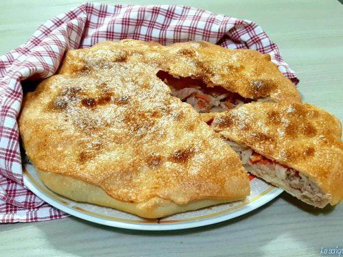 Pizza salata imbottita
