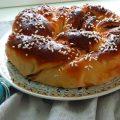 Kozunak dolce pasquale bulgaro