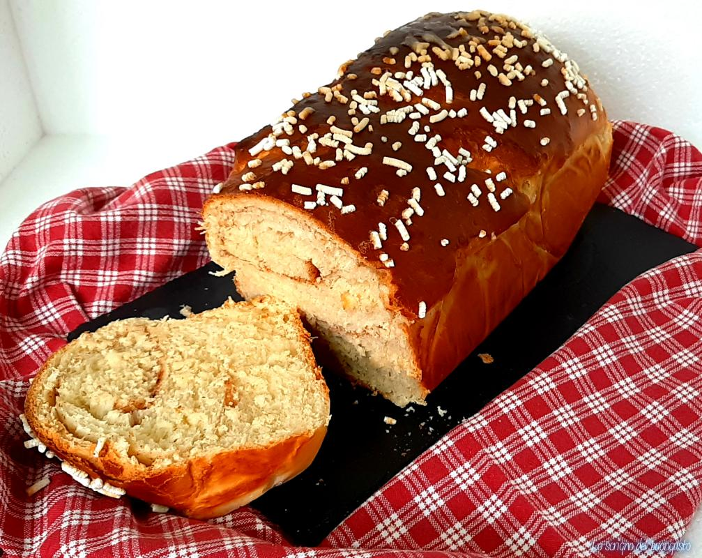 Pan brioche zucchero e cannella