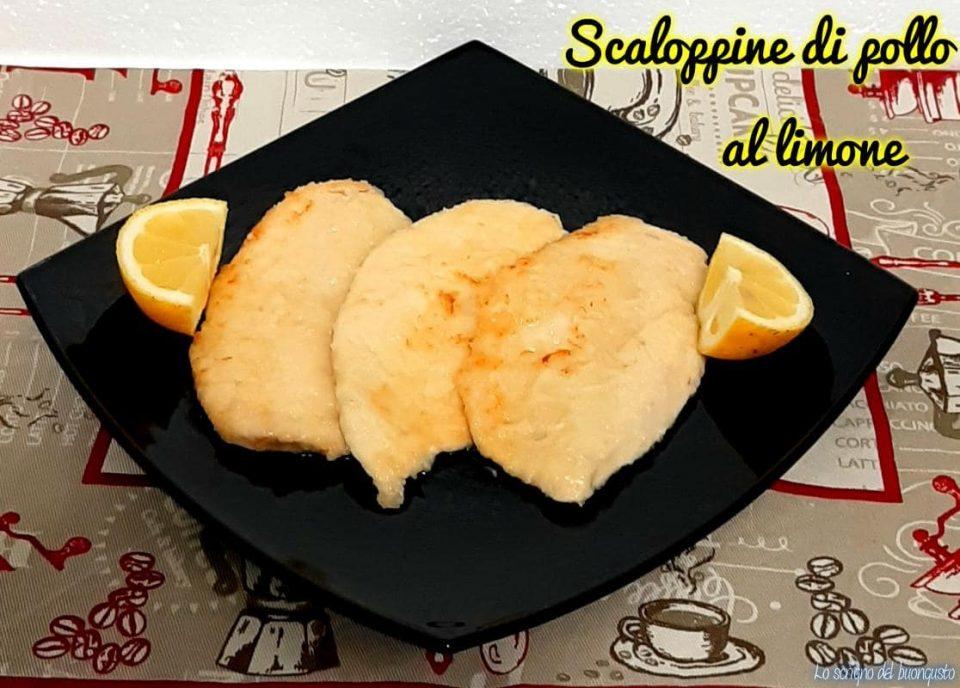 Scaloppine di pollo al limone