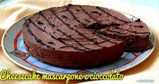 Cheesecake mascarpone e cioccolato
